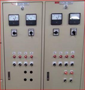 photo of heater control panel