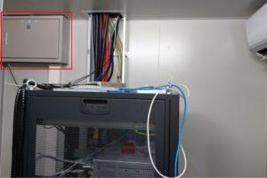 photo of GAIA HP power panel